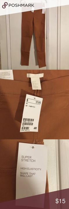 H&M Skinny Super Stretch Burnt Orange Denim Pants H&M Skinny Super Stretch Burnt Orange Denim Pants NWT High elasticity, shape that will last. The perfect color to transition from winter to spring! H&M Jeans Skinny