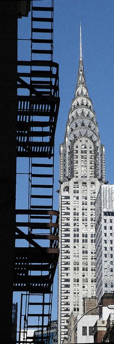 The Chrysler building in NYC is my favorite piece of architecture. Love it!
