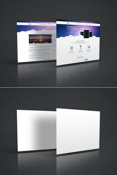Free Web Page Mockup Freebies 3D Display Free Graphic Design MockUp Presentation PSD Resource Showcase Template Web Design