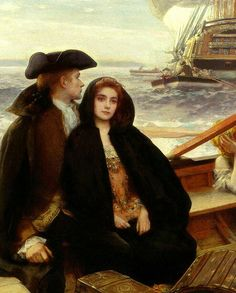 Albert Lynch (Peruvian, 1851-1912)  The Jolly Boat (detail)