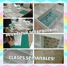 Deux Fleurs Scrapbooking clases semanales informes en deuxfleurs.com.ar