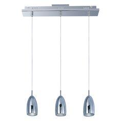 Bullet 3-Light LED Linear Suspension by ET2 - http://www.lightopialed.com/et2-bullet-3-light-led-linear-suspension.html