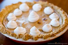 Taffy Apple Cheesecake Pie - Taste and Tell