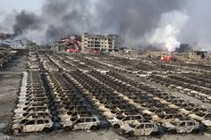 Tianjin Explosions Leave Warehouse District a Smoky Ruin - NYTimes.com