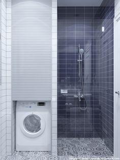 19 Most Beautiful Vintage Laundry Room Decor Ideas (eye-catching looks) Laundry Room Wall Decor, Laundry Room Bathroom, Diy Bathroom Remodel, Laundry Room Design, Shower Remodel, Bathroom Layout, Bathroom Interior Design, Laundry Area, Laundry Rooms