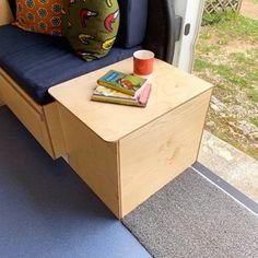 Hur är livet i en egenbyggd husbil? Reser, Campervan, Devon, Toy Chest, Storage Chest, Tiny House, Toys, Furniture, Home Decor