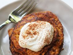 Light, fluffy, and mostimportantly, 2 ingredients—these pancakes are absolutely to die for!Thebest part—they're simple enough for weekdays, yet feelindulgentenough for weekend brunch(even though they're not indulgent at all). Simply combine one roasted sweet potato with two eggs, and you have clean pancake batter ready to be cooked. View Recipe: 2-Ingredient Sweet Potato Pancakes