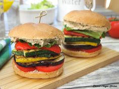 Grilled Ratatouille Sandwich >> Dianne's Vegan Kitchen