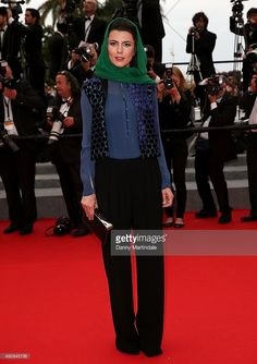 Leila Hata attends the 'Jimmy's Hall' Premiere at the 67th Annual Cannes Film Festival on May 22, 2014 in Cannes, France.