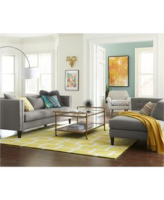 Braylei Track Arm Sofa Collection - Furniture - Macy's