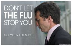 Flu Vaccination, Flu Shot posters and pamphlets