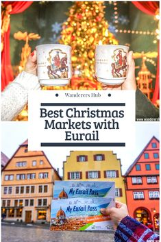 Do You Want Worldwide Vehicle Coverage? Pictures That Will Motivate You To Plan Your 2019 Europe Trip. Step by step instructions to Use Eurail Pass To Hop Around Europe Especially During The Festive Time. Christmas Markets Europe, Christmas Travel, Holiday Travel, Christmas Fun, Europe Holidays, Christmas Vacation, European Vacation, European Destination, European Travel