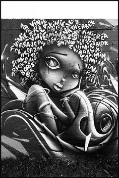 African American Art | Street Art | photo by Vinie & Rea