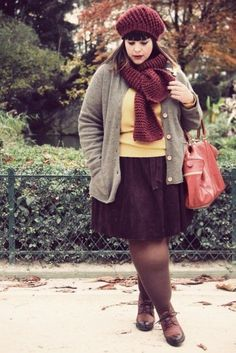Plus size outfits for fall can be a slightly hard task to find. Autumn, or fall, whichever you call it wherever you happen to live, can be a wonderful time in the span of the