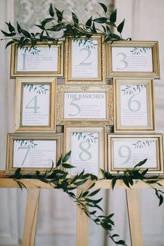 40 New Ideas Diy Wedding Reception Seating Wedding Reception Seating, Seating Chart Wedding, Wedding Signage, Wedding Table Assignments, Wedding Sitting Chart, Diy Wedding Table Numbers, Wedding Entrance Table, Wedding Table Place Settings, Framed Table Numbers