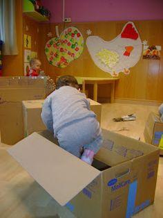 Psicomotricitat amb caixes