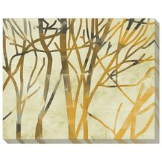Nature Grouping Branches Acrylic Art Panel by Phoenix Creative