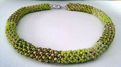 Colier din margele de nisip Beaded Necklace, Crafty, Jewelry, Bead, Beaded Collar, Jewlery, Pearl Necklace, Jewerly, Schmuck