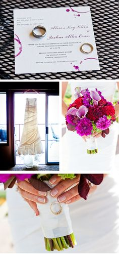 Vibrant Purple and Red Vineyard Wedding in Washington | WeddingWire: The Blog