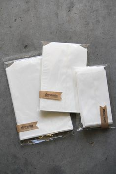 Glassine Bags | Olive Manna.