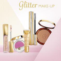 Gioca, brilla e seduci con il #makeup! Questo #weekend accendi la tua voglia di risplendere con glitter e riflessi iridescenti... e realizza in pochi e semplici gesti un trucco da vera regina della festa!