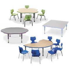 SMITH SYSTEM™ Husky Adjustable Activity Tables ~ Heavy Duty And Great For  Any Environment