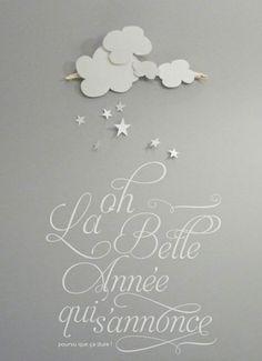 Font. papercut, photography, graphism © céline voisin - noël, christmas