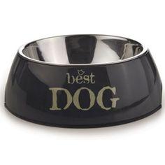 """""""Best Dog"""" Grå 18cm Hundeskål Dog Bowls, Dogs, Pet Dogs, Doggies"""