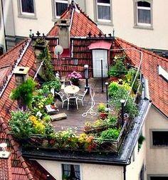 Wo ist das und wann kann ich da einziehen? Dachterrasse/riesiger Balkon
