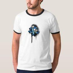 - Bass Baseball Player Batting Cartoon T-Shirt Cartoon T Shirts, Ringer Tee, Mega Man, Baseball Players, Casual Looks, Fitness Models, Largemouth Bass, Mens Tops, How To Wear