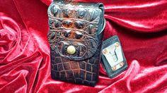 custom leather cell phone holster: Custom phone holster