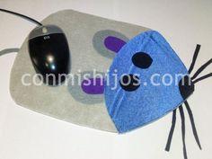 Alfombrilla ratón. Manualidad para el Día del Padre