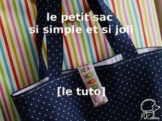 DIY - le petit sac ultra facile qui sert à tout [tuto]                                                                                                                                                                                 Plus