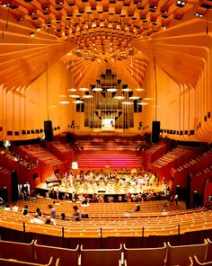 Sydney Opera House. Always wondered what the interior and acoustics were like!