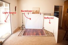How to set up a simple natural light studio « McKenna Pendergrass Photography Blog