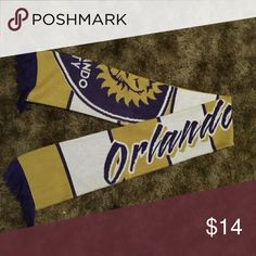 Orlando City Sc Scarf Never worn! Great Condition! Accessories Scarves