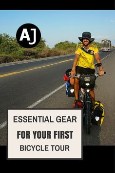 Essential Gear You Need For Your First Bike Tour