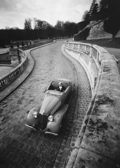 ✯ Robert Doisneau .. Cabriolet, France in 1936✯