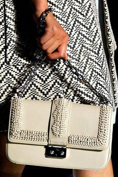fashion week 2012 bags   Fashion Week Handbags: Dior Spring 2012   Bags Purse Blog
