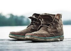 These are pretty amazing...Earthkeepers® Hookset Handcrafted Fabric Chukka