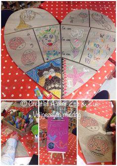 Vrijgezellen feest bij het creatief atelier zus & zus te Venray. Diam's 3D paint
