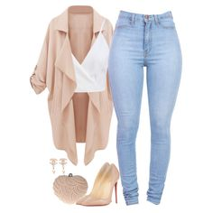A fashion look from April 2016 featuring cami top, pink coats and stretchy jeans. Browse and shop related looks. Teen Fashion Outfits, Swag Outfits, Mode Outfits, Fall Outfits, Cute Comfy Outfits, Classy Outfits, Stylish Outfits, Mode Ulzzang, Everyday Outfits