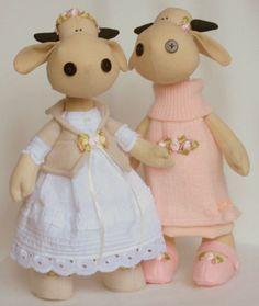 Cow Doll - free pattern