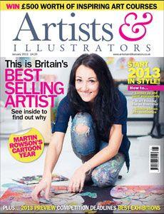 Artists & Illustrators Digital cover image