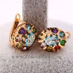 Szaffi fülbevaló - Zomax Gold divatékszer www.zomax-gold.hu Druzy Ring, Bracelet Watch, Watches, Bracelets, Rings, Gold, Accessories, Jewelry, Jewlery