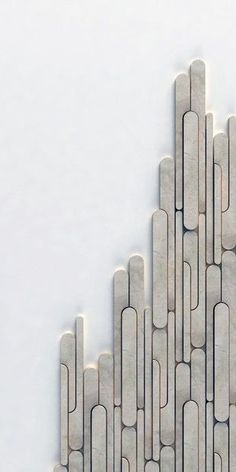 Beautiful Tile. Reminds me of the popsicle stick windows I did at Club Monaco in July.
