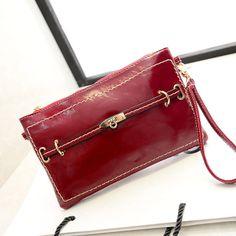 Bag spring women's handbag fashion twist lock one shoulder cross-body bag evening