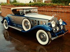 1930 Cadillac - V16 Roadster