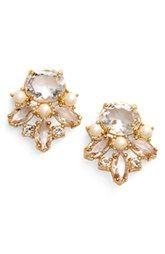 kate spade new york 'chantilly' cluster stud earrings