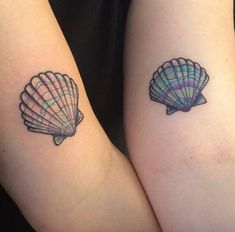 Seashell tattoo